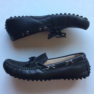 Cole Haan | Garnet Black Leather Driver Loafer 6.5